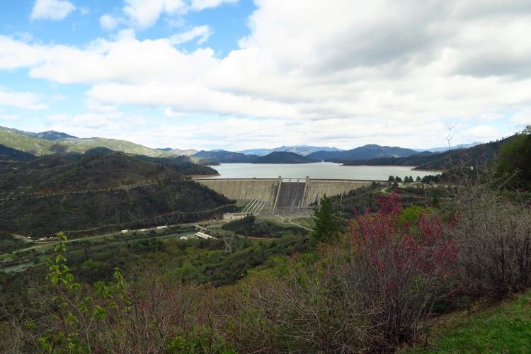 Shasta Dam and Shasta Lake overview