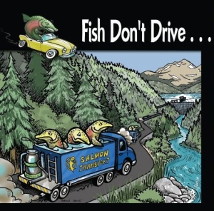 fish don't drive poster