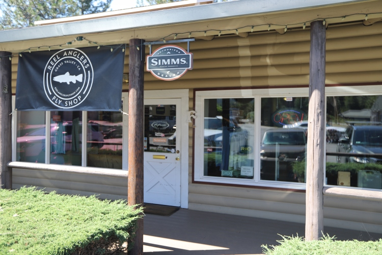 Reel Anglers Fly Shop Grass Valley